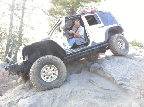 Chad navigating the Rubicon.