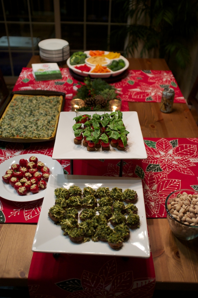 Holiday Party Food Porn!