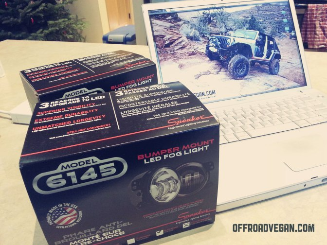 Product Install: J.W. Speaker LED Fog Lights for JK