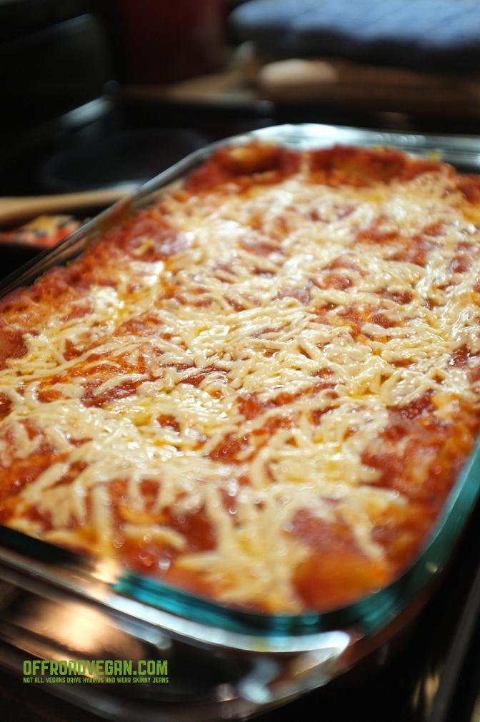 Recipe: Vegan Lasagna with Basil Cashew Cheese