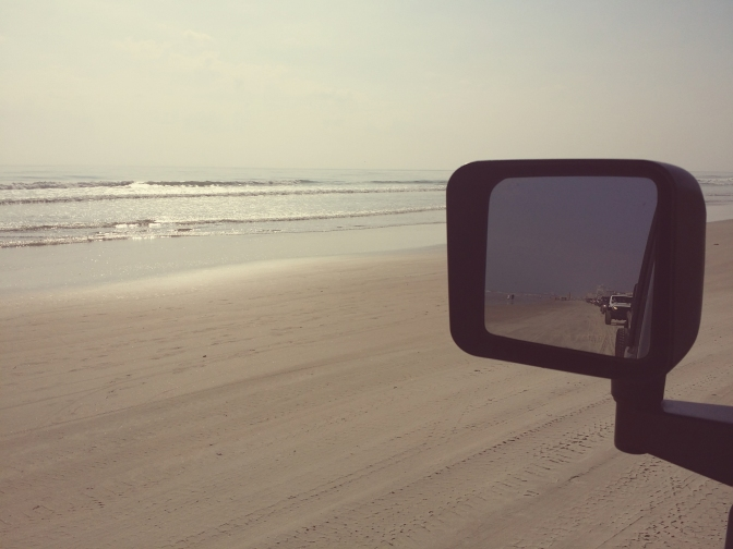 Jeep Beach in the Rear View