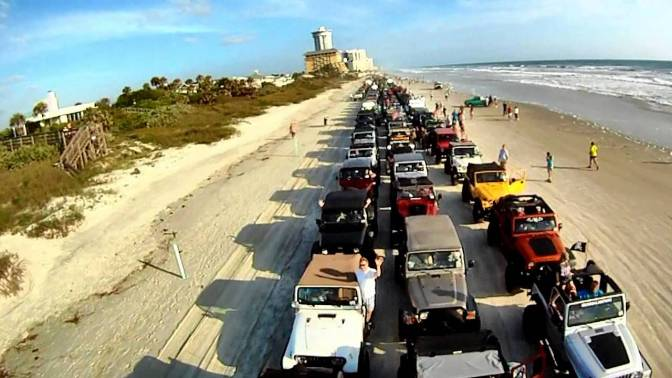 Off to Jeep Beach!
