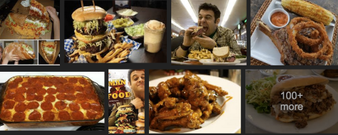 "A recent google image search for ""Man food"""