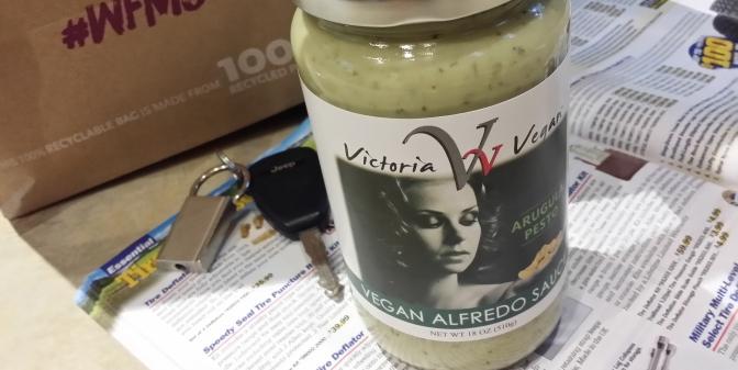 Product Review: Victoria Vegan's Arugula Alfredo Sauce