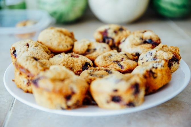 "Recipe: VEGAN ""Joadan Maash"" Blueberry Muffins"