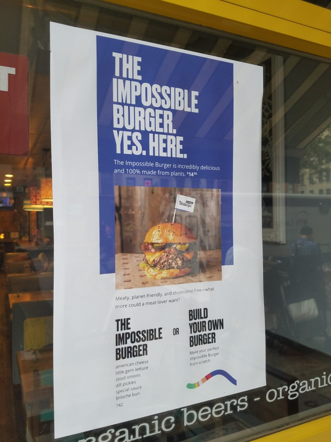 My Take on the Impossible Foods Burgergate