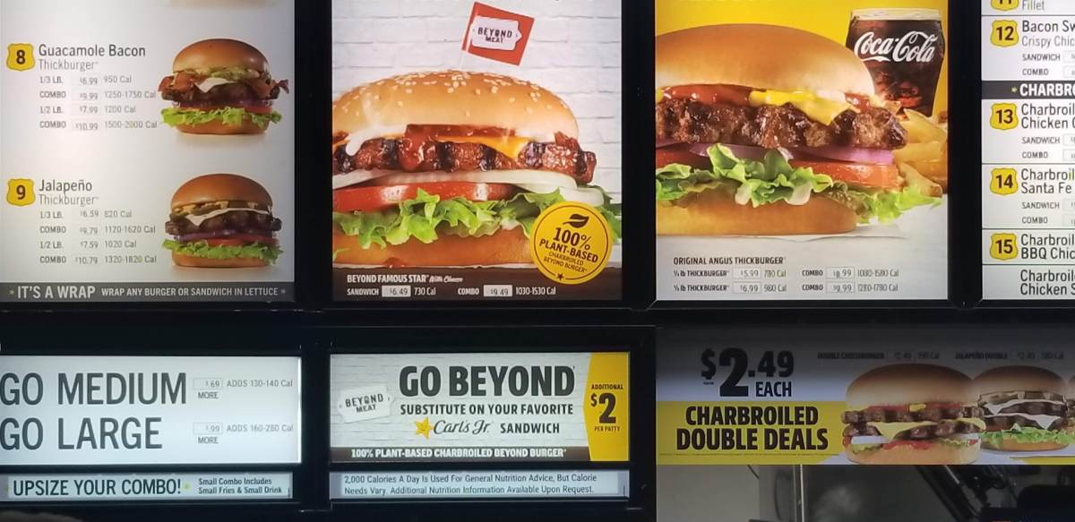 Beyond Burgers at Carl's Jr!